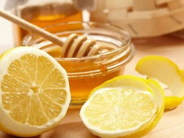 Маски для лица очищающие с лимоном и мёдом