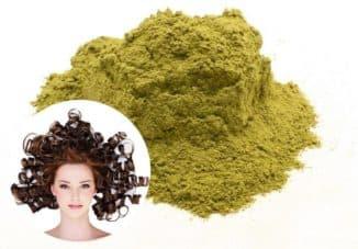 Мвски для волос с бесцветной хной