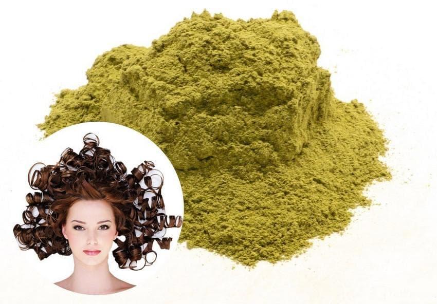Маска для волос с бесцветной хной
