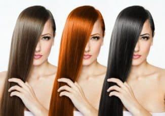 Масляные краски для волос