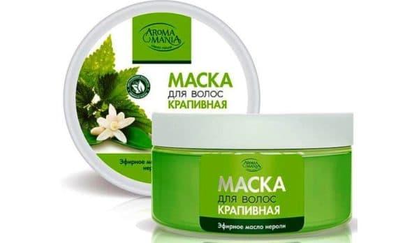 Маска для волос с эфирными маслами Aroma Mania