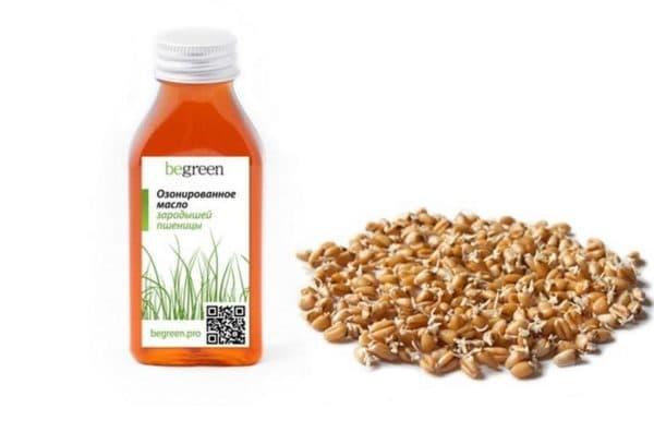 begreen масло зародышей пшеницы озонированное