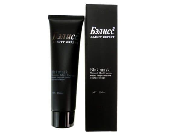 Маска для лица с черной глиной Бэлисс
