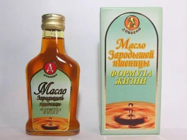 Дивеево масло из зародышей пшеницы