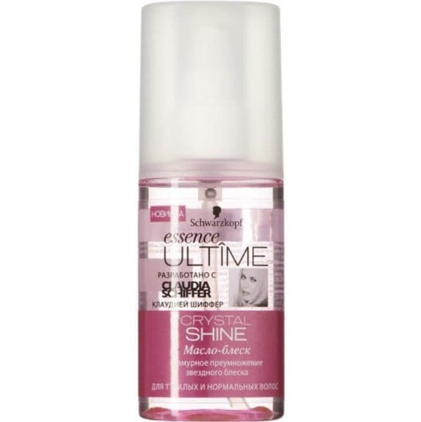 Масло для волос Essence Ultime Crystal Shine