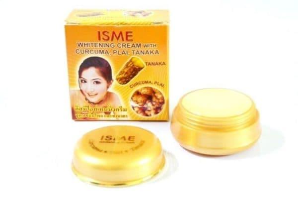 Отбеливающая маска с куркумой для лица от ISME