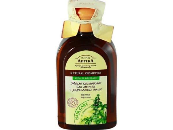 Касторовое масло для сухих кончиков волос