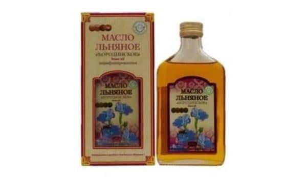 Льняное масло для сухих кончиков волос