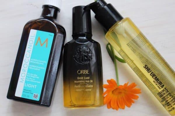 Косметические масла для волос