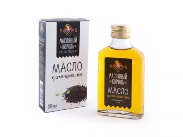 Масло черного тмина для волос Масляный король