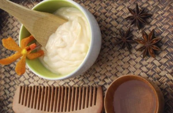Маска для сухих волос на основе домашнего майонеза