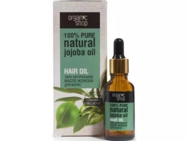 Масло для волос жожоба Organic Shop