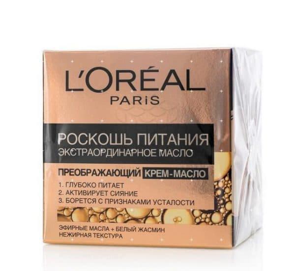 Преображающее крем-масло для лица Лореаль