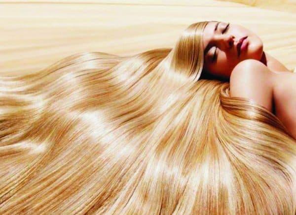 Результат применения масок для волос с витаминами в ампулах