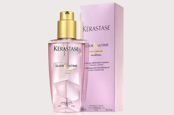 Масло Керастаз для волос в розовом бутыльке
