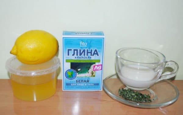 Маска для лица с петрушкой и медом