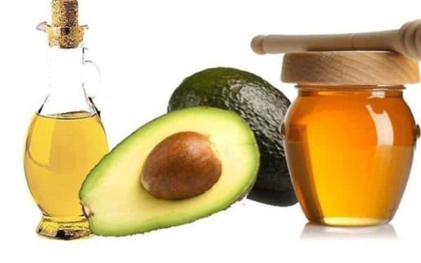 Маска для волос с маслом авокадо и мёдом