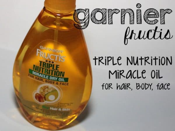 Triple Nutrition Fructis масло для волос