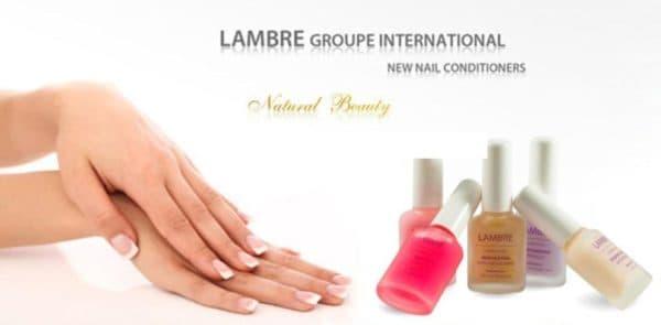 Лак против ломкости ногтей Lambre