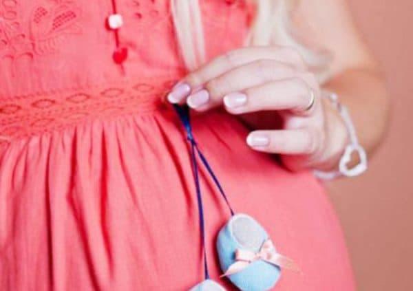 Классический френч при беременности