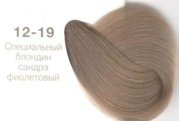 Пепельный блонд оттенок Igora Royal без желтизны