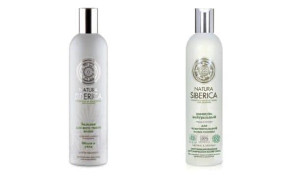 Шампунь Natura Siberica с пихтовым маслом для волос