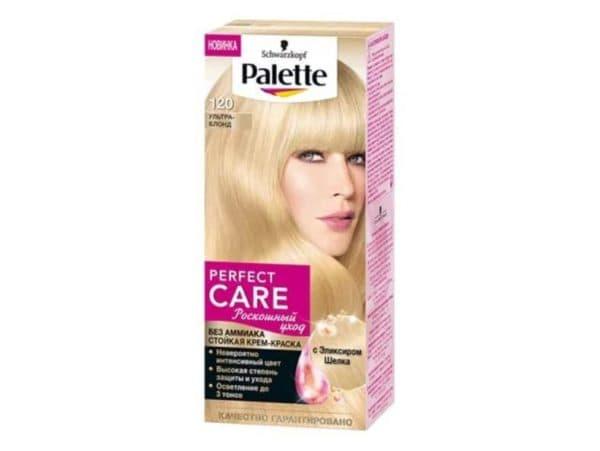 Краска для волос блонд без желтизны PALETTE