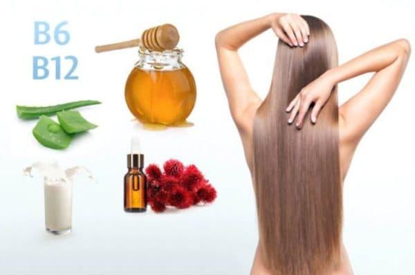Витаминно-медовая маска для сухих волос