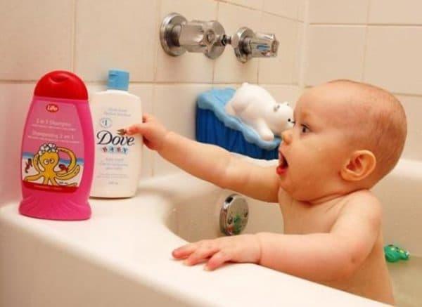 Мыло для мыть головы взрослых и детей