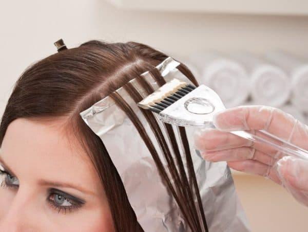 Классическая техника мелирования волос