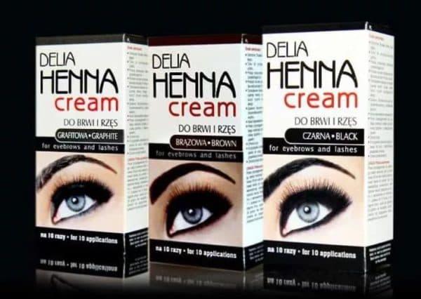 Delia Henna cream краска для бровей