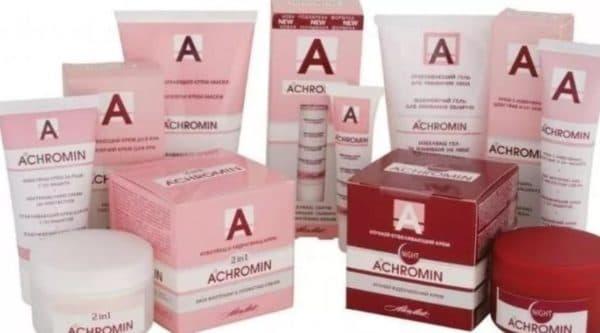 Achromin отбеливающий крем для лица