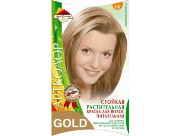 Артколор Gold, растительная краска для волос, №101