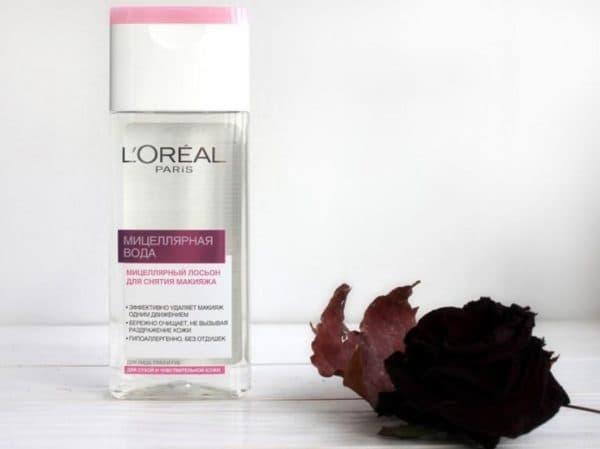 Мицеллярная вода Лореаль для чувствительной кожи