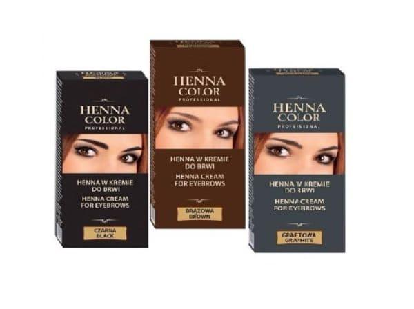 Хна для окрашивания бровей Henna Color