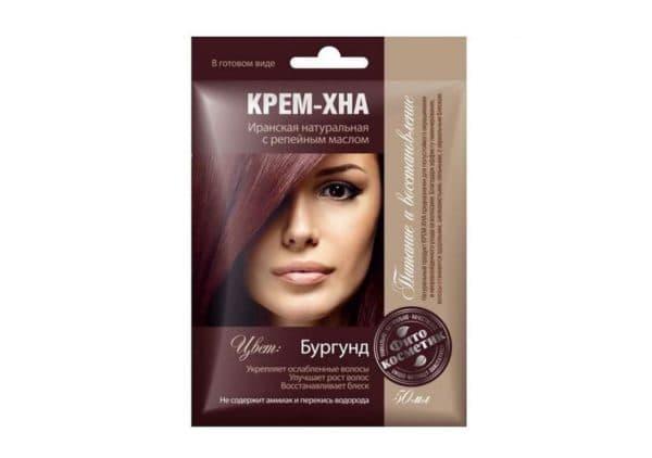 Крем-хна для волос