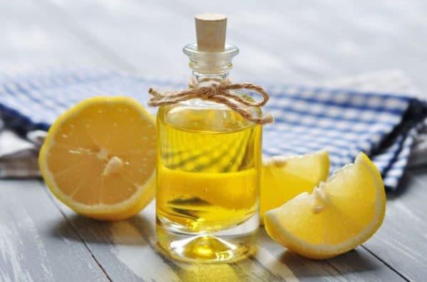 Лимон и касторка для сухих волос