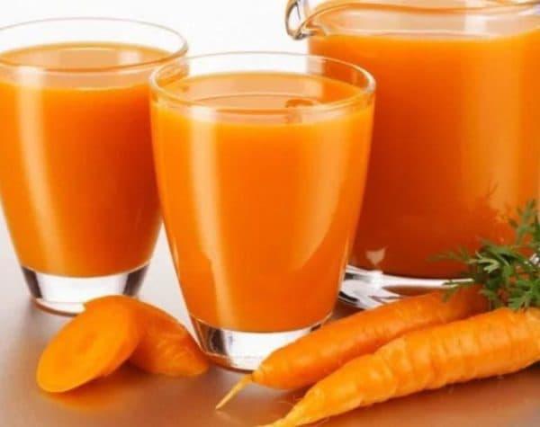 Морковный сок для сухих волос