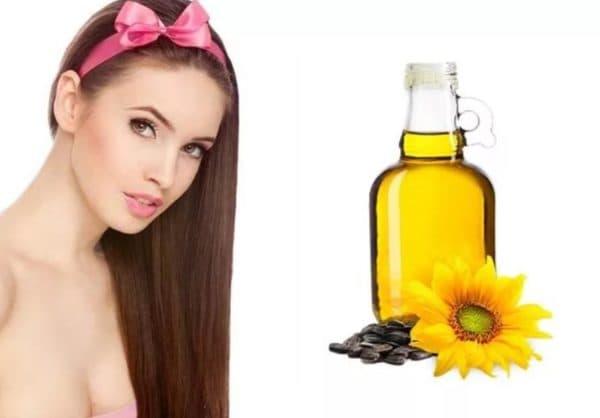 Результат от применения подсолнечного масла для волос