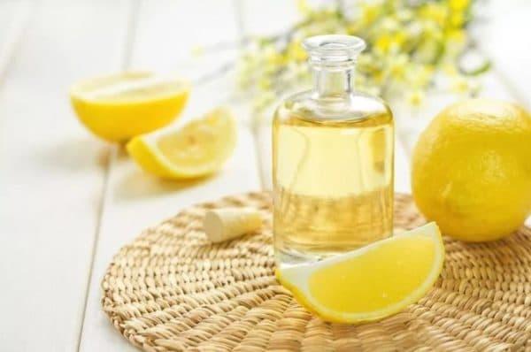 Масло подсолнечное для волос с лимоном