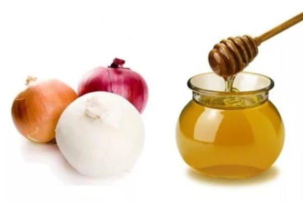 Маска для волос с подсолнечным маслом, луком и мёдом