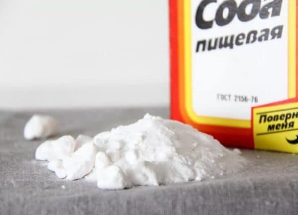 Пищевая сода от потв и запаха под мышками