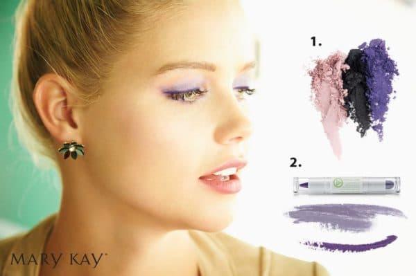 Применение теней-карандаша для век от Мэри Кей