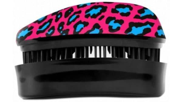 Расческа для нарощенных волос Dessata Hair Brush Leopard