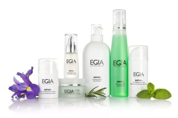 Egia профессиональная косметика для лица