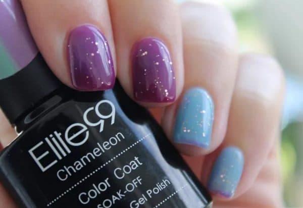 Термо гель-лак для ногтей Elite99 Chameleon
