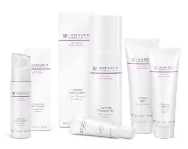 Janssen профессиональная косметика для лица