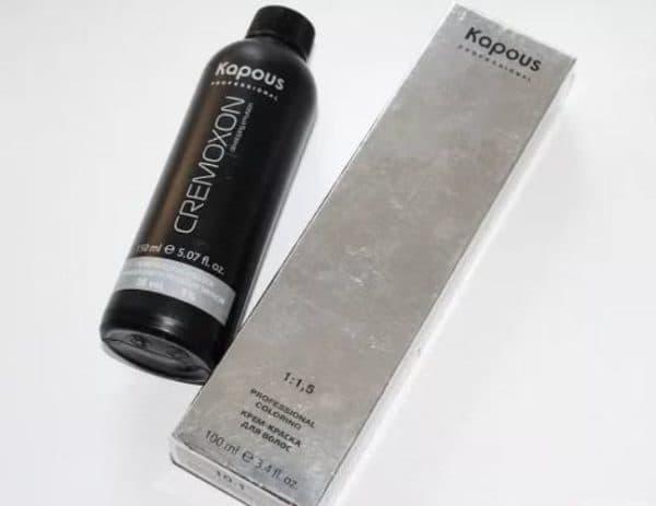 Профессиональная краска для волос Kapous