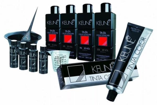 Салонная краска для волос Keune
