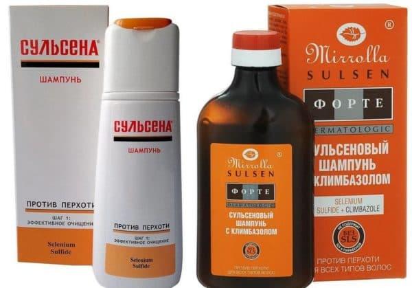 Формы выпуска продуктов Сульсена